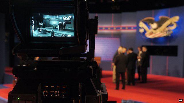 debate studio