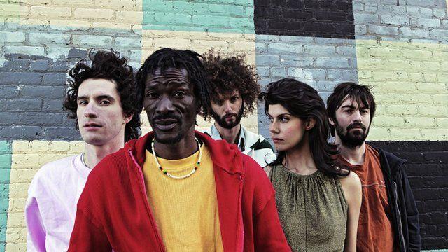 Sierra Leone's Janka Nabay and his band