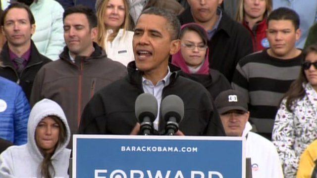 Barack Obama in Denver, Colorado