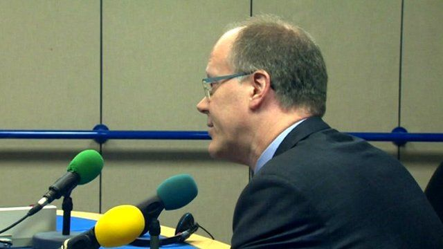 BBC Director General George Entwistle