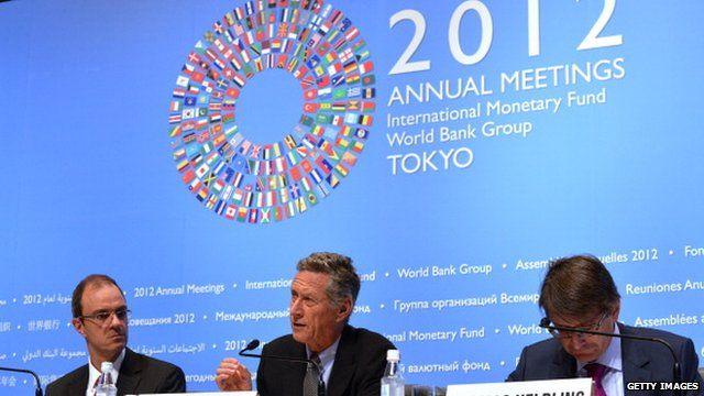 IMF meeting Tokyo October 2012