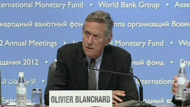 Olivier Blanchard, IMF