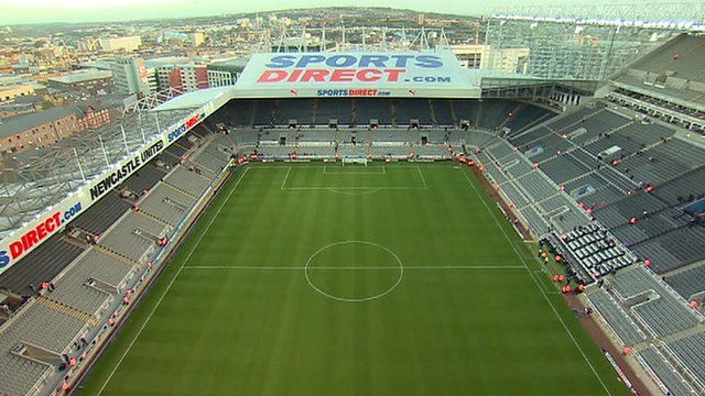 Newcastle United ground