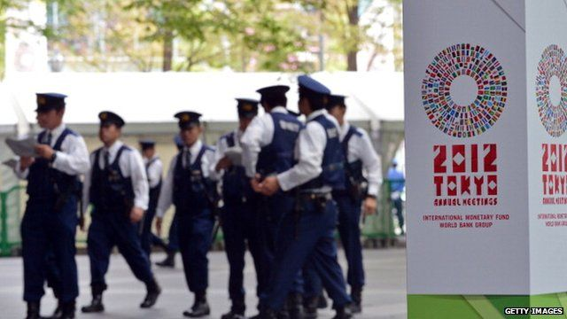 Security at IMF Meeting in Tokyo