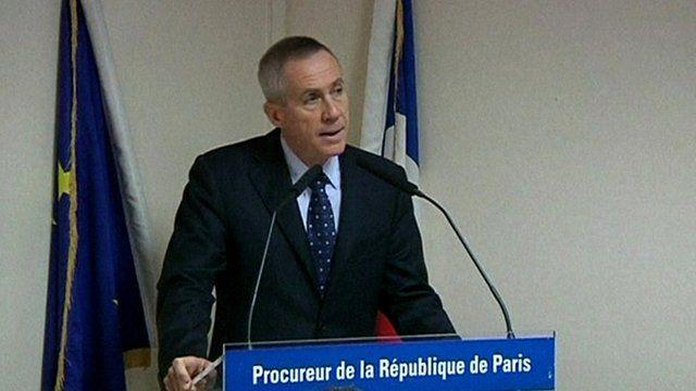 Paris public prosecutor Francois Molins