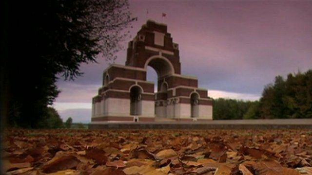 Thiepval WW1 Memorial, France