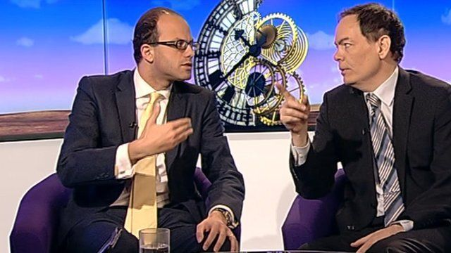 Allister Heath and Max Keiser