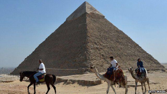 Pyramid of Chefren