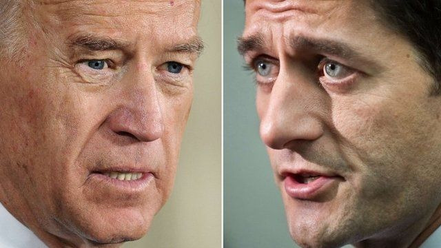 Joe Biden and Paul Ryan
