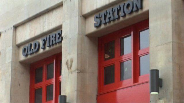 Former central Bristol fire station