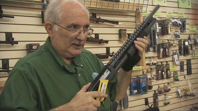 Gun shop manager in Florida