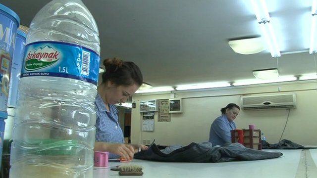 Turkish women in work