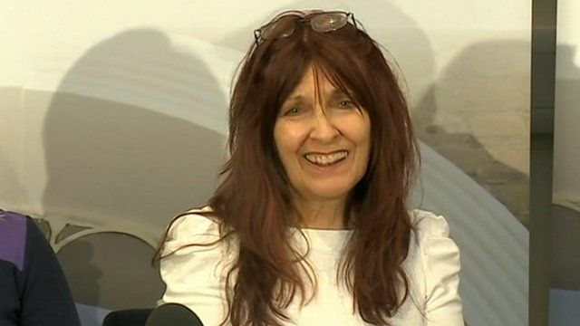 Janis Sharp, pictured on 16 October 2012