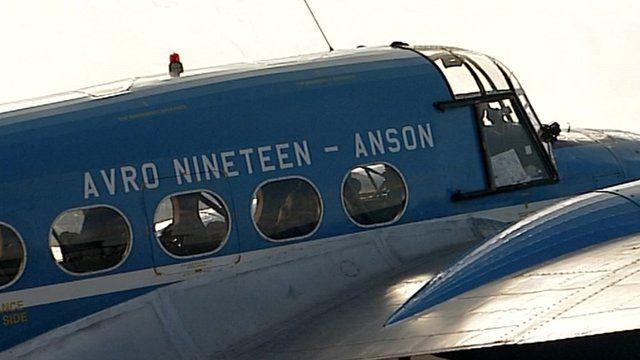 Avro Anson passenger aircraft