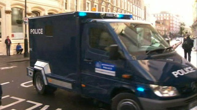Van carrying Shajul Islam arrives at court