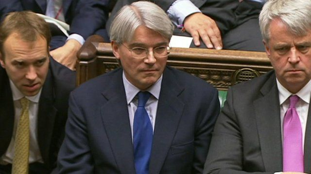 Chief Whip Andrew Mitchell