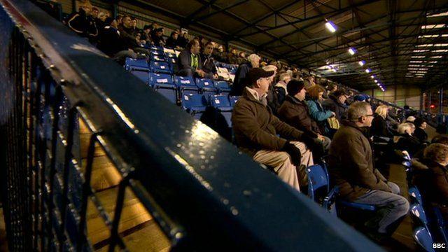 Bury FC fans