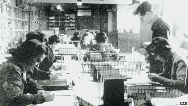 code breakers in the Second World War.