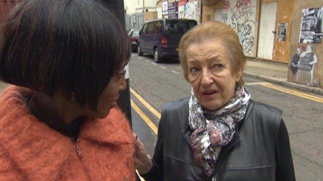 BBC London's Brenda Emmanus with Jennifer Jenkel of the Jewish Music Institute