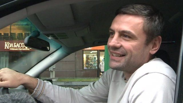 Moscow driver