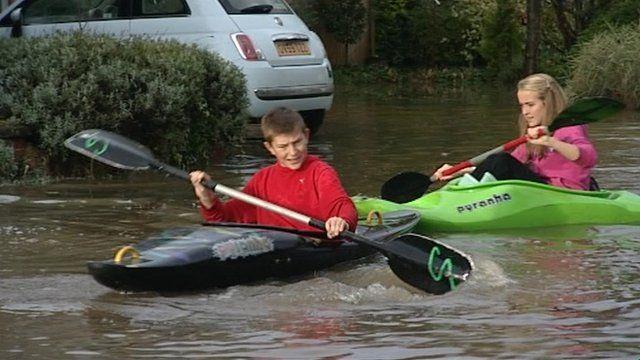 Flooding in Wendlebury