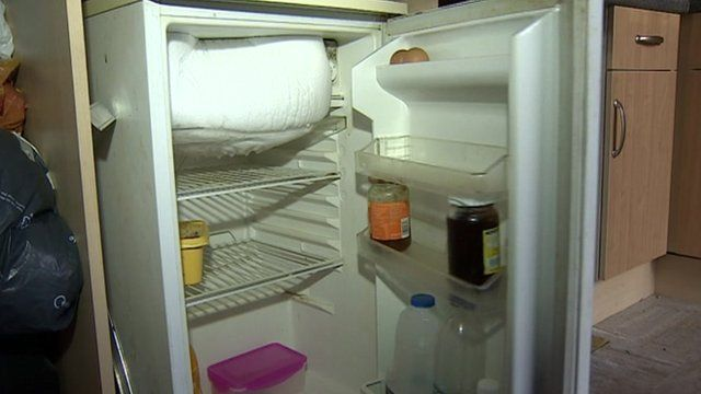 The Fridge Is Almost Empty In Gemma Easter And Darren Harcourts Norwich Home
