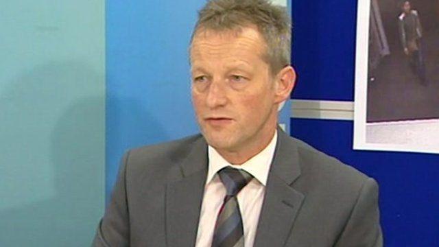 Detective Superintendent John Hanson