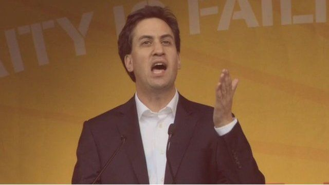 The Labour leader, Ed Miliband,