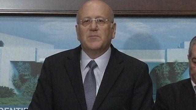 Lebanon's Prime Minister Najib Mikati