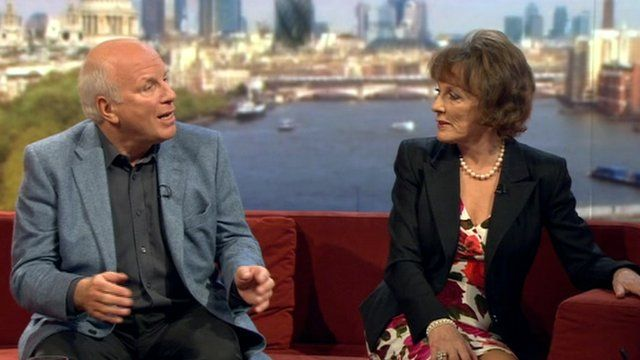 Ester Rantzen and Greg Dyke on the Andrew Marr Show