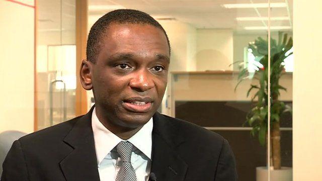 Jose Filomeno Don Santos, director Angola's sovereign wealth fund.