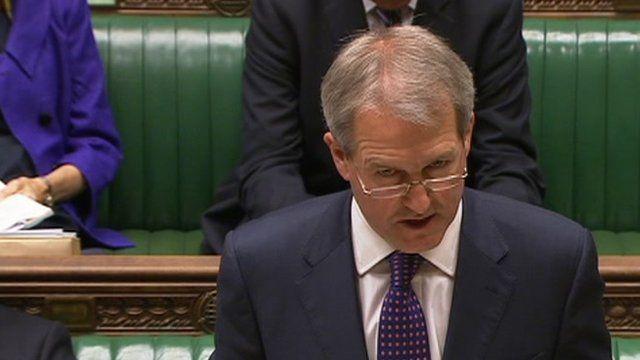 Environment Secretary Owen Paterson