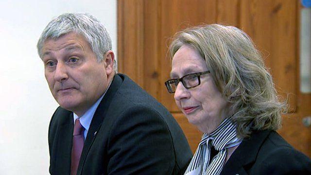 MSPs John Finnie and Jean Urquhart