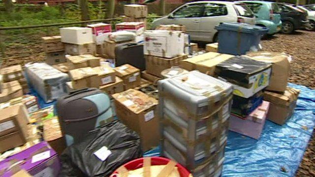 Donations ready to go to Honduras