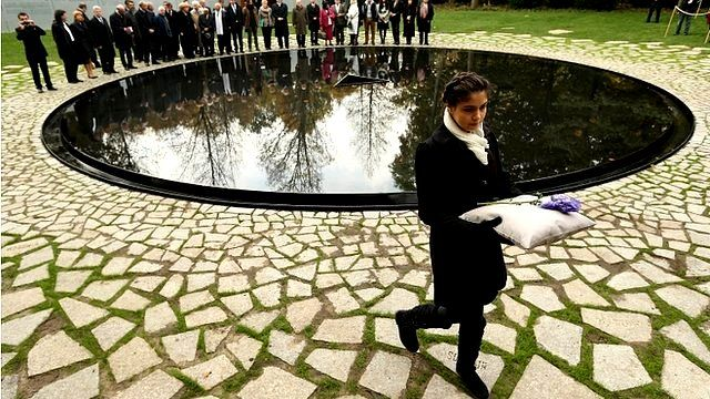 Germany Inaugurates Roma Holocaust Memorial