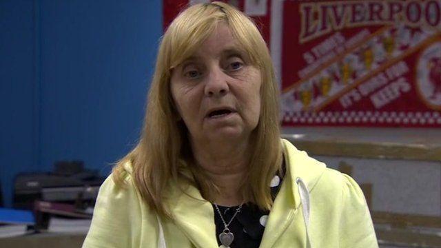 Margaret Aspinall, chair of the Hillsborough Families Support Group