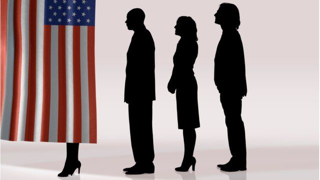 Voters at the poll