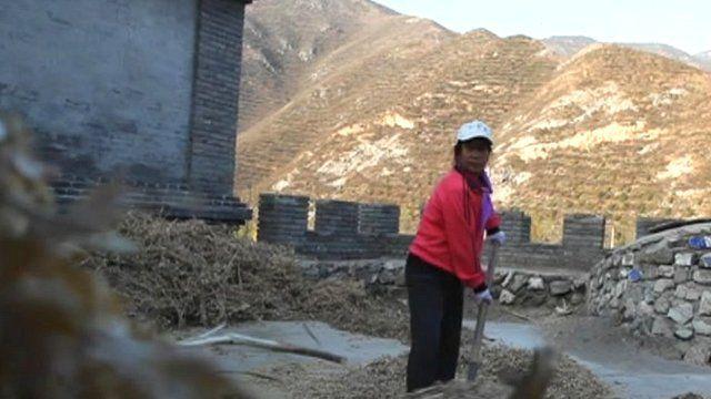 Inhabitant of Shixia Village, China