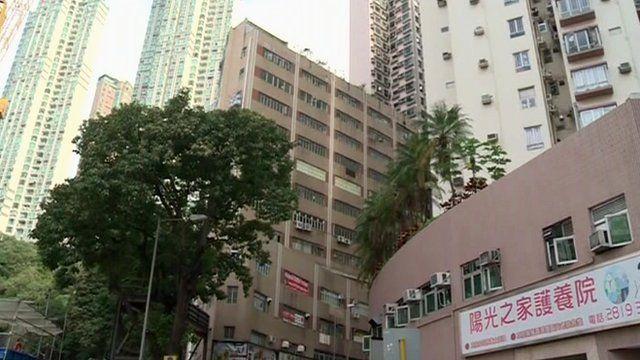 Hong Kong offices and blocks of flats