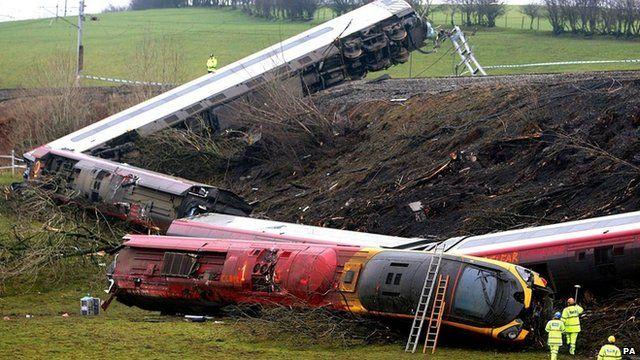 Virgin train derailed at Grayrigg