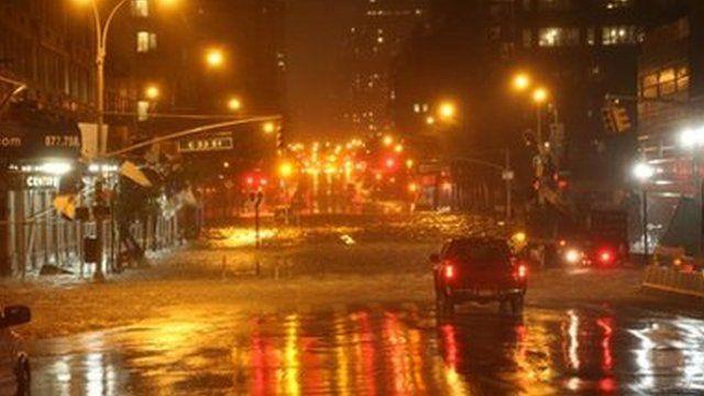 Flooding in Manhattan, 29 Oct
