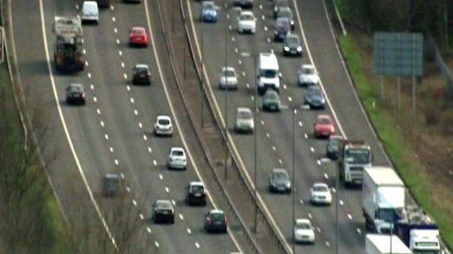 A UK motorway