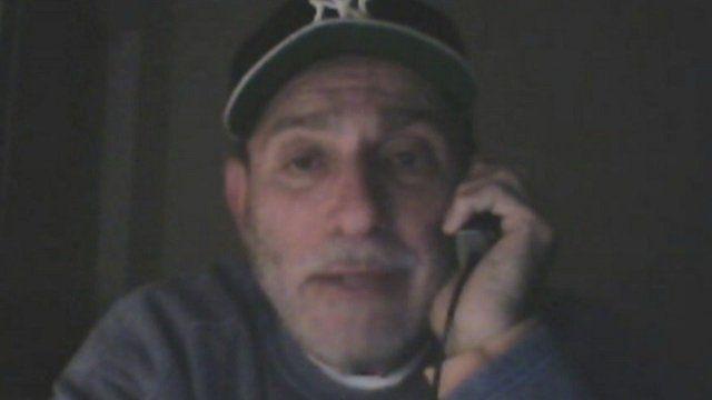 New York cab driver Peter Franklin