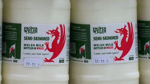 Proper Welsh milk