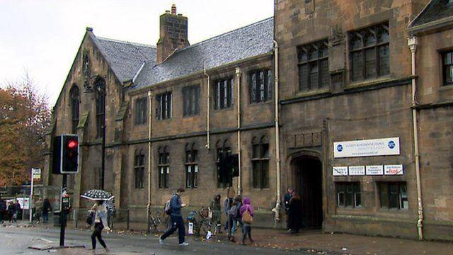 Students at Glasgow University