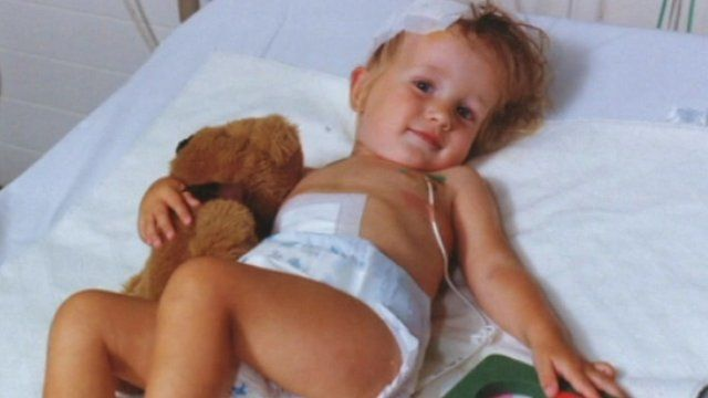 Alison Phelan died from a brain tumour aged seven, in 2001