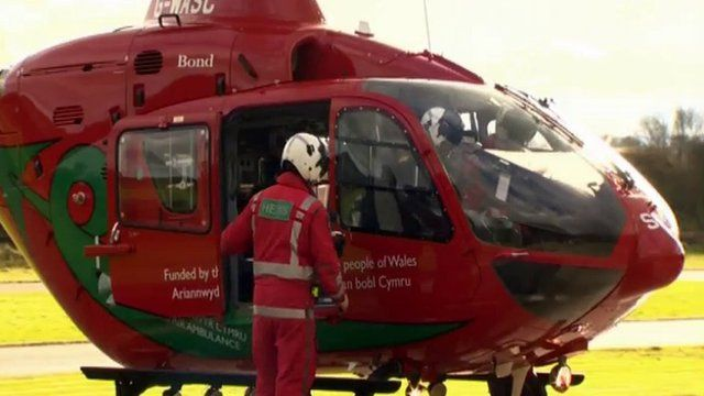 Wales' latest air ambulance