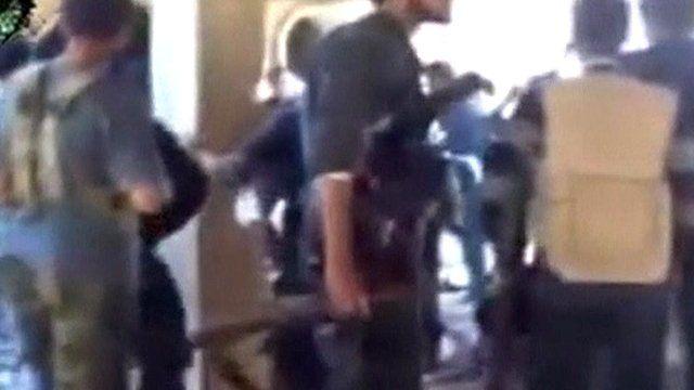 Armed Syrian rebels