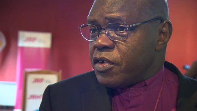 The Archbishop of York John Sentamu