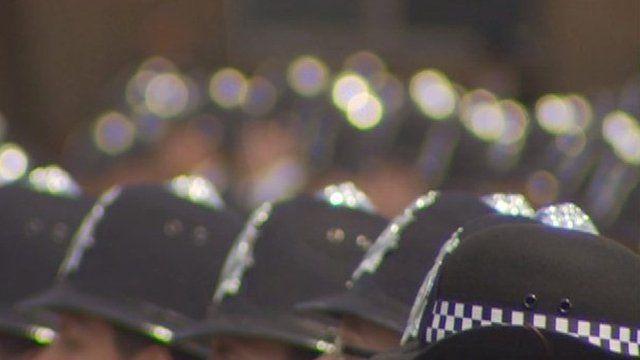 Met police helmets
